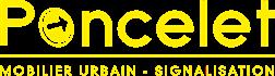 Logo poncelet signalisation mobilier urbain
